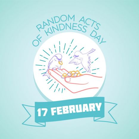 What's Random Acts of Kindness Day, and how do I celebrate it?